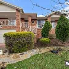 Rental info for Spacious Two Storey home- PRICE REDUCED!! in the Canberra area
