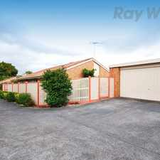 Rental info for GREAT LOCATION & LOW MAINTENANCE in the Melbourne area