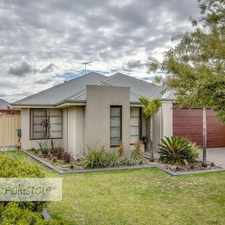 Rental info for Be quick to view this beautiful spacious home in the Perth area