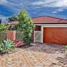Rental info for **HOME OPEN MONDAY 18TH SEPT 4.15PM-4.30PM** GORGEOUS HOME WAITING FOR THE RIGHT TENANT