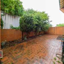 Rental info for Stylish Townhouse with large private courtyard close to Perth in the Joondanna area