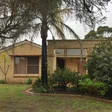 Rental info for REGISTER YOUR INTEREST TODAY!! in the Swan View area