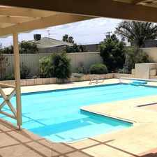 Rental info for Large Family Home with Below Ground Pool, Workshop and Close to Transport
