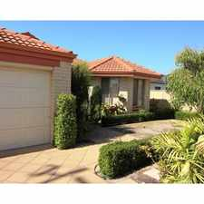 Rental info for 4 x 2 + study - Fabulous Willetton Home