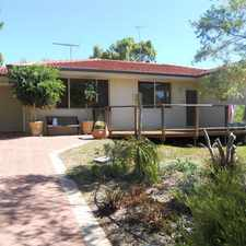 Rental info for RARE FIND - 4x2 SINGLE LEVEL FAMILY HOME, PETS OKAY in the Karrinyup area