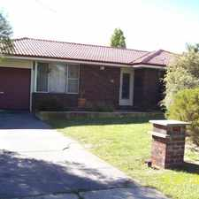 Rental info for Happy Family Home in the Kenwick area
