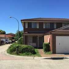 Rental info for 3 Bedroom Townhouse - Great Location! in the Sydney area