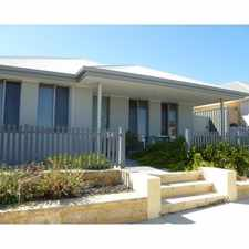 Rental info for Perfectly proportioned home
