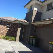 Rental info for TWO BEDROOM PLUS STUDY TOWNHOUSE