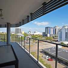 Rental info for PRESTIGE SELF CONTAINED APARTMENT WITH FANTASTIC VIEWS in the Darwin City area