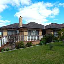 Rental info for Spacious & Comfortable Family Home! in the Melbourne area