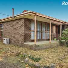 Rental info for Classic Charmer with Loads of Space in the Melbourne area