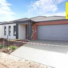 Rental info for Brand New Family Home in the Melbourne area