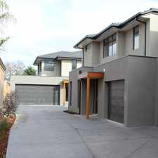 Rental info for New Contemporary Townhouse in the Melbourne area