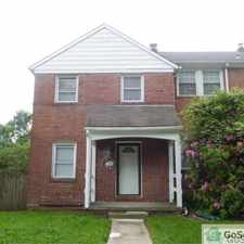 Rental info for FULLY RENOVATED 3bd 2ba end of row home in the Westgate area