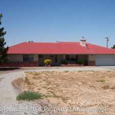 Rental info for 58360 San Andreas in the Yucca Valley area