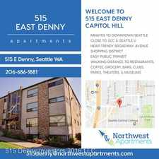 Rental info for 515 E. Denny Way in the Seattle area