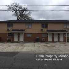 Rental info for 3302 Bulloch St in the Savannah area