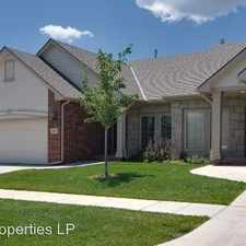 Rental info for 9814 E 19th St N in the Wichita area