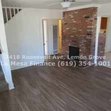 Rental info for 7418 Roosevelt Avenue in the San Diego area