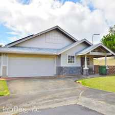 Rental info for 95-230 KUINEHE PLACE in the Mililani Mauka area