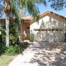 Rental info for Stunning Pool Home! in the PGA National area