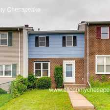 Rental info for 55 Ray Avenue