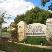 Rental info for Willow Brook Apartments in the Sweetbriar area