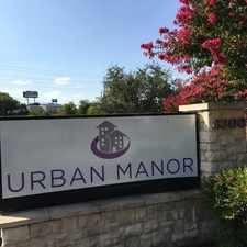 Rental info for Urban Manor in the Western Hills North area