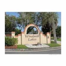 Rental info for 365 Southwest 86th Avenue #207 in the Pembroke Pines area