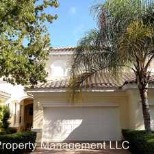 Rental info for 602 Triano Circle