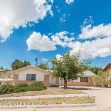 Rental info for 313 Lomont Dr. in the Sunland Park North area