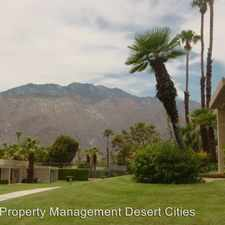 Rental info for 845 Calle de Pinos in the Palm Springs area