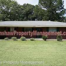 Rental info for 2993 Elgin Dr in the Southeast Memphis area