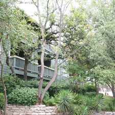 Rental info for 2901 Barton Skyway in the Barton Hills area
