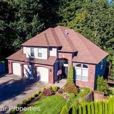 Rental info for 1816 Hall Ct. in the West Linn area