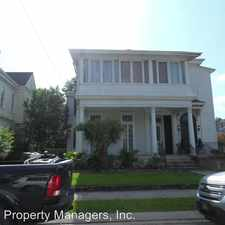 Rental info for 1470 ARABELLA ST in the New Orleans area