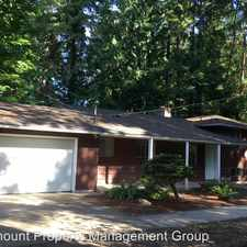 Rental info for 3923 62nd Ave Ct NW