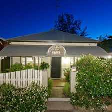 Rental info for BEAUTIFUL QLDER BUILT AROUND 1890 - TOTALLY RENOVATED WITH MAGNIFICENT CITY VIEWS in the Paddington area