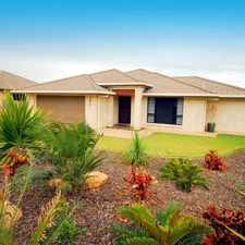 Rental info for MODERN 4 BEDROOM FAMILY HOME IN QUIET ESTATE in the Yeppoon area