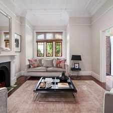 Rental info for Stunning Four Bedroom Terrace with Secure Parking in the Sydney area