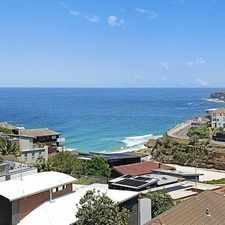 Rental info for SPLIT LEVEL MODERN APARTMENT WITH STUNNING OCEAN VIEWS! in the Tamarama area