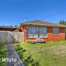 Rental info for Close to all the Amenities! in the Geelong area
