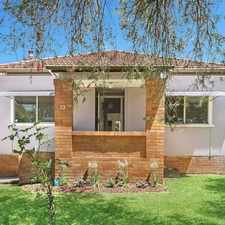 Rental info for Peaceful Family Home in the Hurstville area
