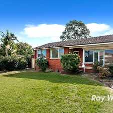 Rental info for Tastefully Renovated Little Gem! in the Sydney area