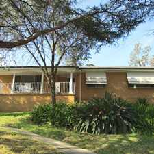 Rental info for Quiet cul-de-sac house.... in the Kirrawee area