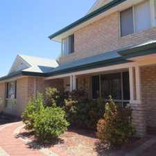 Rental info for SPACIOUS 2 STOREY FAMILY HOME.... AVAILABLE: 27 SEPT in the Perth area
