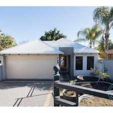 Rental info for House For Rent In East Victoria Park