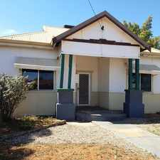 Rental info for Cottage in Central Location in the Kalgoorlie area