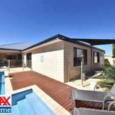 Rental info for 4 or 5 Bedroom Home PLUS Sparkling Pool in the Perth area